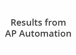 Results from AP Automation